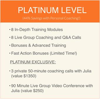 Platinum Level Package